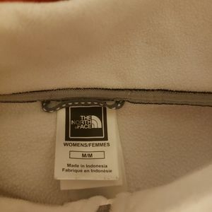 Northface white pullover M